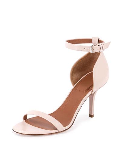 Pure Line Ankle-Wrap Sandal