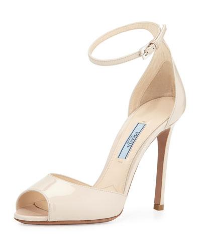 Patent Simple Naked Sandal