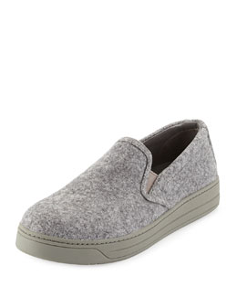 Felt Slip-On Skate Shoe