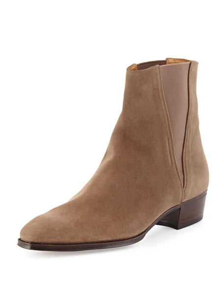 Jodhpur Suede Ankle Boot