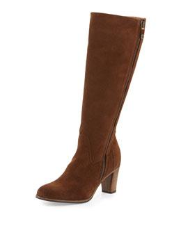 Savona Suede Knee Boot
