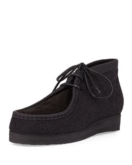 Leather & Suede Wallabee Shoe