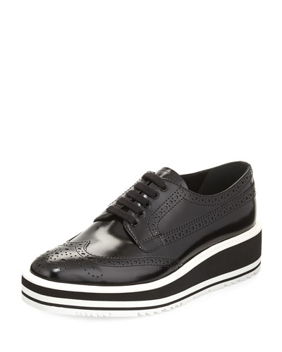 Platform Lace-Up Creeper