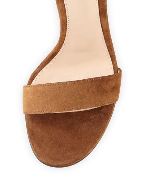 Portofino Suede Ankle-Strap Sandal