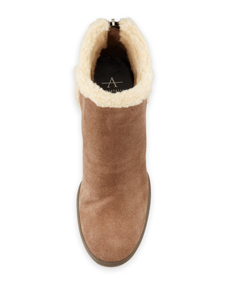 Charlie Faux-Fur Ankle Boot