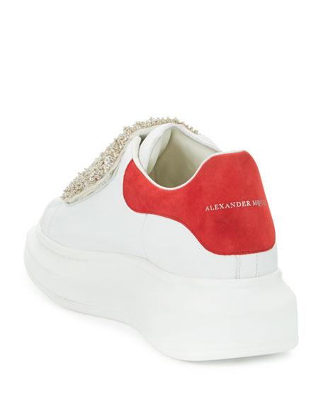 Alexander McQueen Flat Leather Sneaker