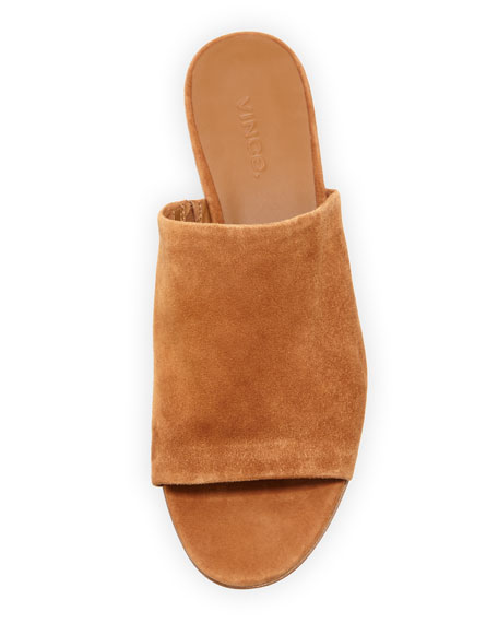 0a6f673b5 Vince Bartley 2 Suede Mule Slide