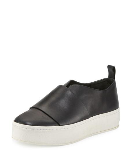 401edf31fcb Vince Wallace Leather Platform Skate Sneaker