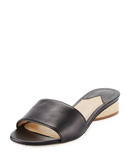 Lina Leather One-Band Sandal