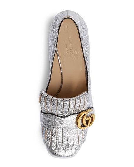 Marmont Fringe Leather 55mm Loafer