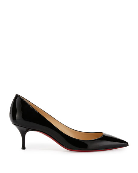 e97269b4620 Pigalle Follies Degrade Patent Red Sole Pump
