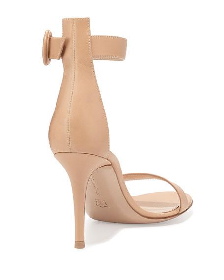 Portofino Leather Ankle-Strap 85mm Sandal