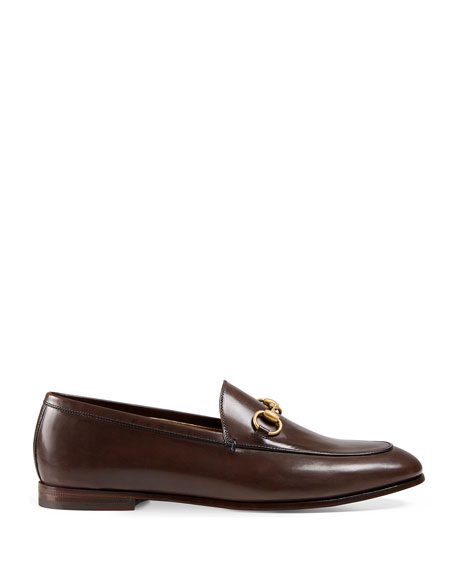 089e916b025 Gucci Leather Bit Loafer
