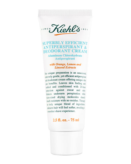Superbly Efficient Anti-Perspirant & Deodorant Cream, 1.7 fl.