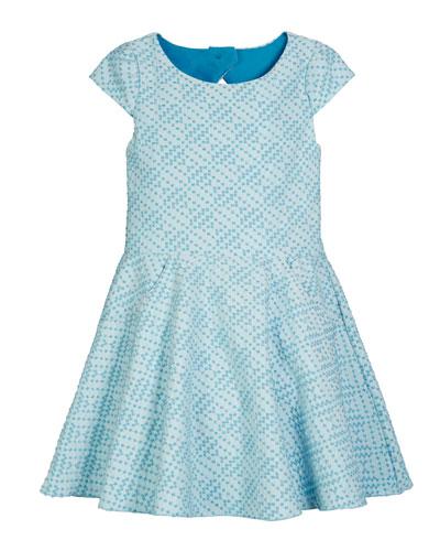 Metallic Studded Knit Pocket Dress  Size 4-6X and Matching Items