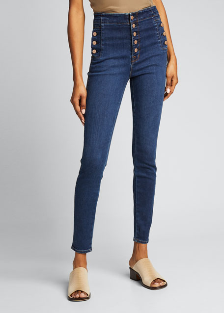 Natasha Sky High Skinny Jeans - Inclusive Sizing