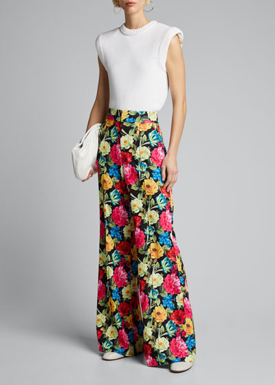 Dylan High-Waist Wide-Leg Pant