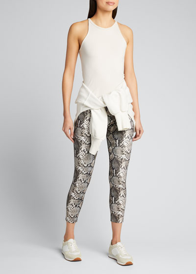 Snake 7/8 Leggings