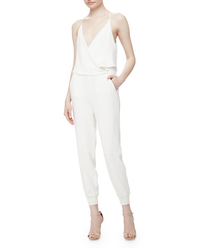 Odila Sleeveless Admiral Jumpsuit
