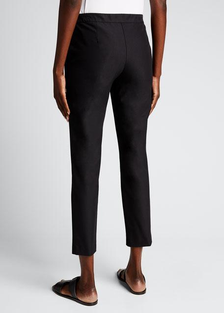 Thaniel Approach Cropped Slim Pants, Black