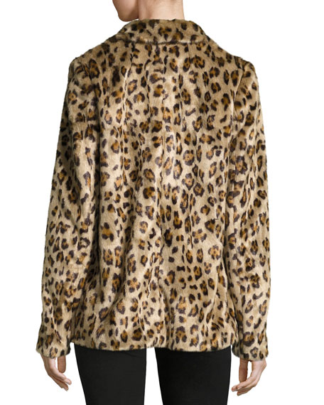 2df9f5eb93af Theory Clairene Leopard Faux Fur Coat