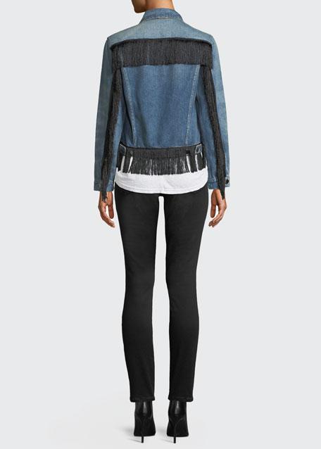 Ali High-Rise Skinny Cigarette Jeans