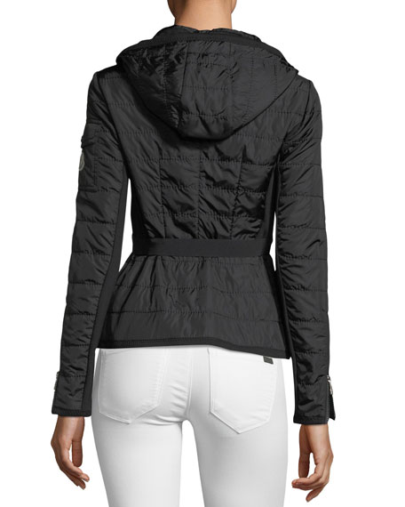 Andradite Zip-Front Fitted Jacket