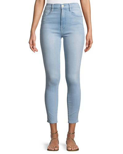 Ali High-Rise Cigarette Jeans