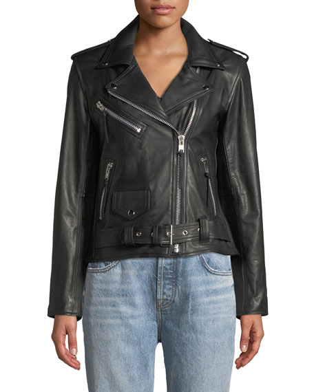 Your Loss Biker Leather Jacket