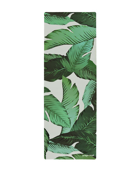 Banana Leaf Combo Yoga Mat
