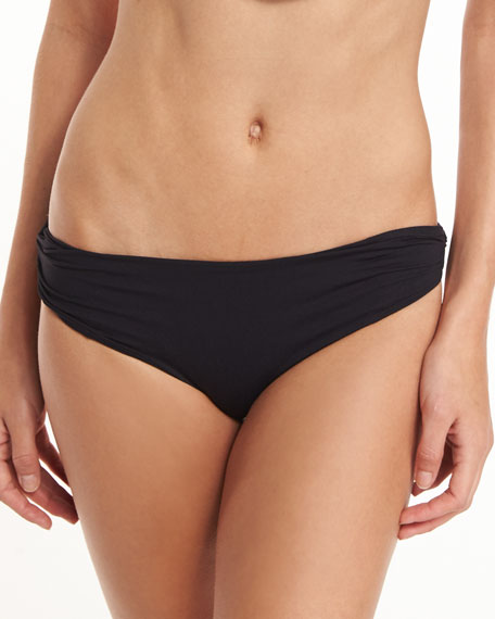 Image 1 of 1: Venice Twisted-Side Swim Bikini Bottom