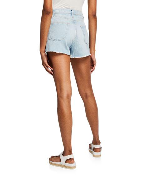 Le Vintage Denim Cutoff Shorts