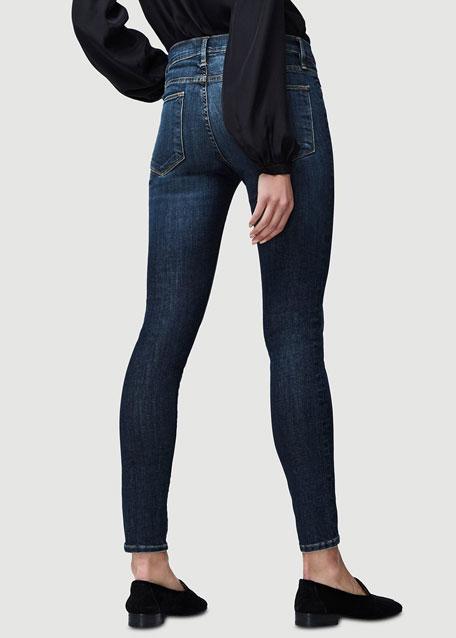 Le High Distressed Skinny Jeans, Harvard