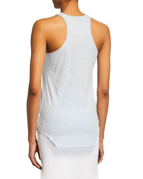 Base Layer Scoop-Neck Cotton Tank