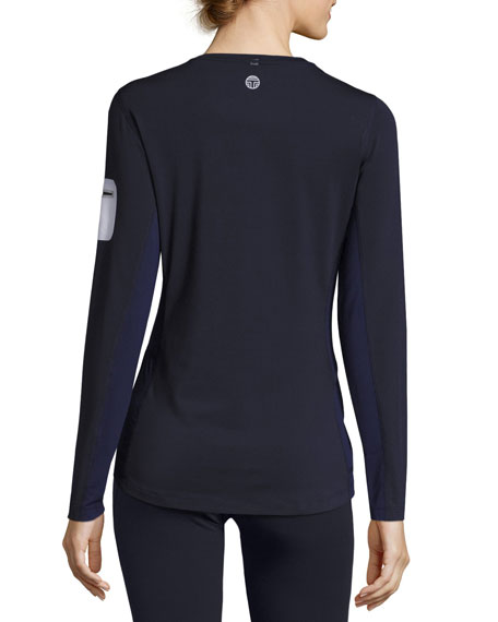 Long-Sleeve Performance Graphic Top