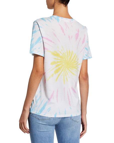 x Leah Tinari Tie-Dye Graphic Tee