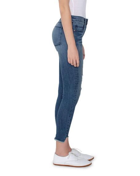 Twisted Seam Skinny Jeans