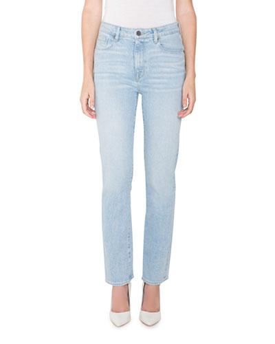 Bombshell Runaround High-Rise Straight Jeans