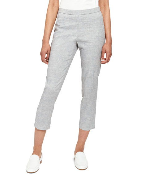 Good Linen Basic Pull-On Pants