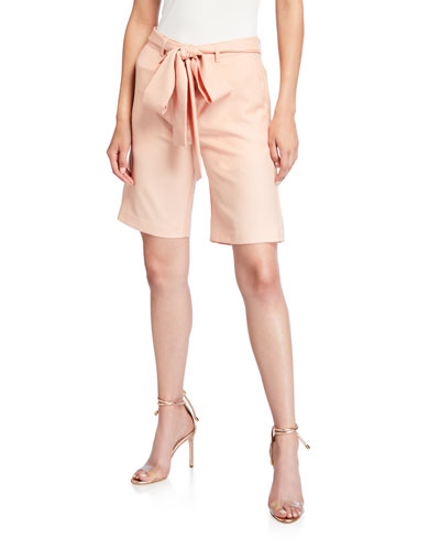 Feeling Peachy Tie-Waist Shorts