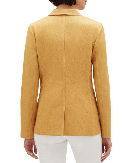 Briallen Brilliance Cloth Two-Button Blazer