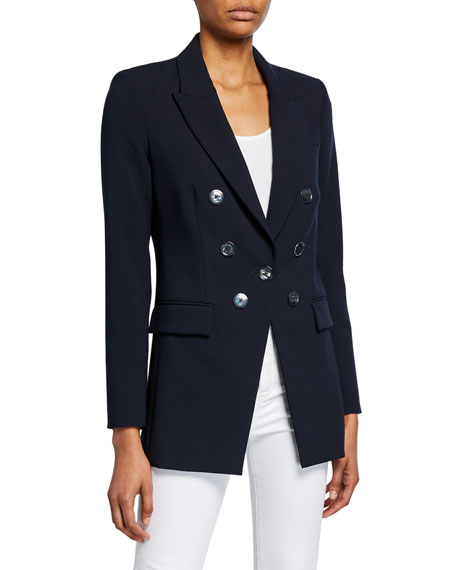 Matteo Double-Breasted Dickey Jacket