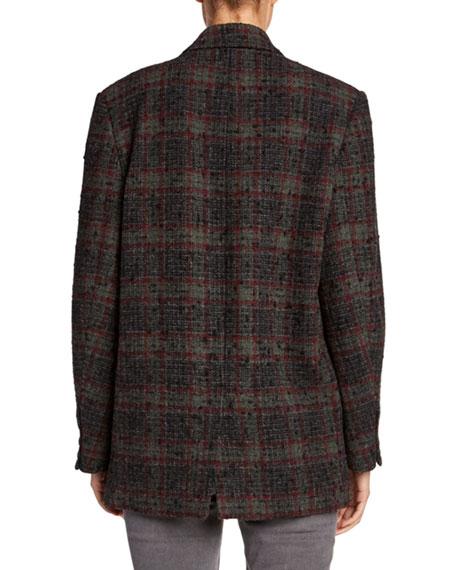 Korix Single-Breasted Check Jacket