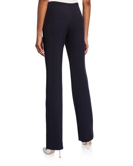 Paneled Straight-Leg Trousers