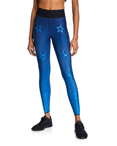 Ultra High Gradient Dropout Star Leggings