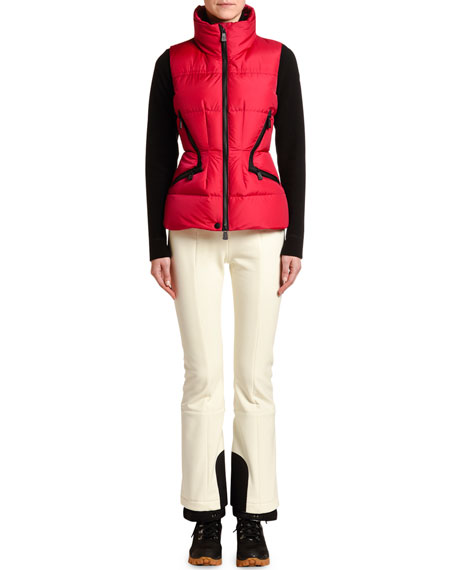 Image 1 of 1: Fitted Puffer Vest