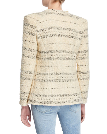 Nine Striped Tweed Jacket