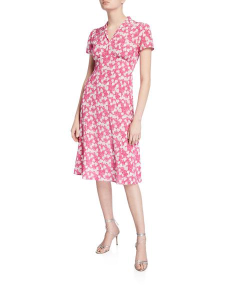 Morgan 40s Printed Dress