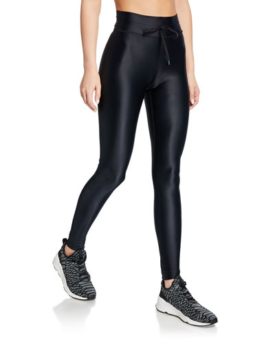 Drawstring Yoga Leggings