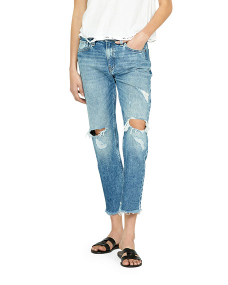 Jessi Distressed Boyfriend Jeans